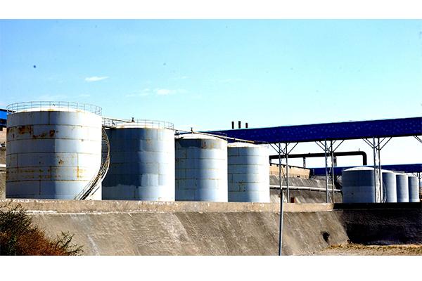 煤焦油储存与预处理区